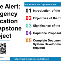 Rescue Alert an Emergency Notification App Capstone Project