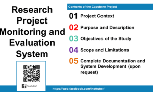 Research Project Monitoring and Evaluation System