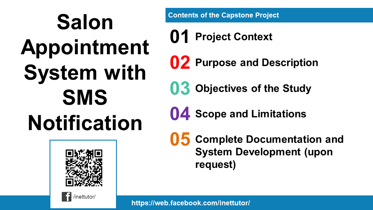 Salon Appointment System with SMS Notification