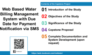 Web Based Water Billing Management System with Due Date for Payment Notification via SMS