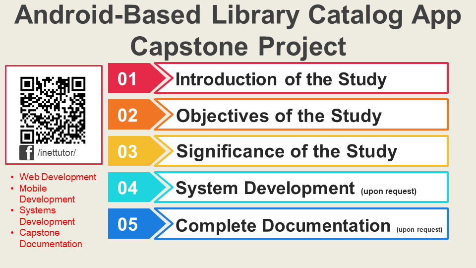 Android-Based Library Catalog App Capstone Project