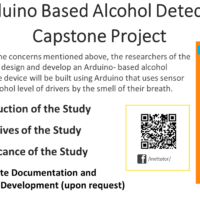 Arduino Based Alcohol Detector Capstone Project