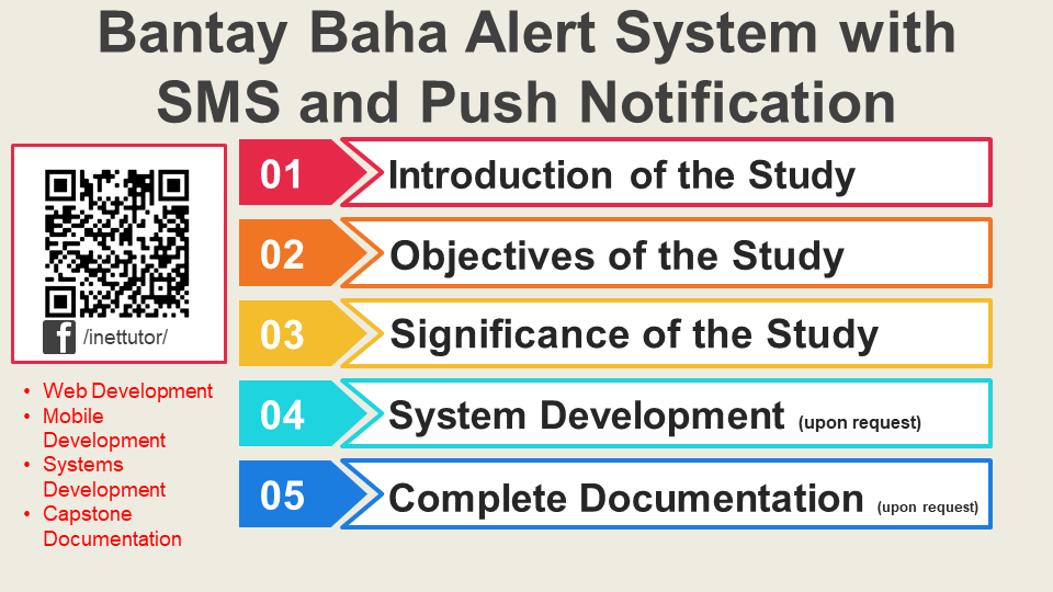 Bantay Baha Alert System with SMS and Push Notification