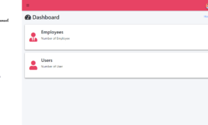 Online and SMS Based Salary Notification - Admin Dashboard