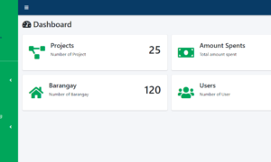 Procurement and Bidding System Free Template - Dashboard