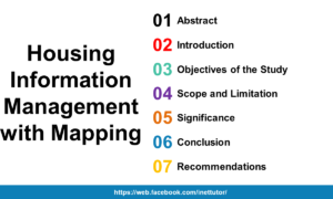 Housing Information Management with Mapping