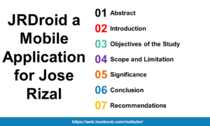 JRDroid a Mobile Application for Jose Rizal