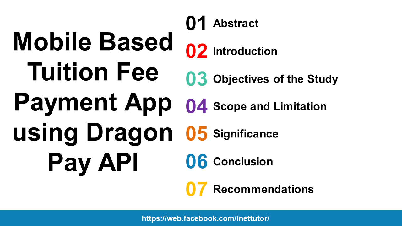 Mobile Based Tuition Fee Payment App using Dragon Pay API