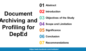 Document Archiving and Profiling for DepEd