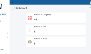 Document Tracking System - Dashboard