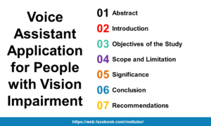 Voice Assistant Application for People with Vision Impairment