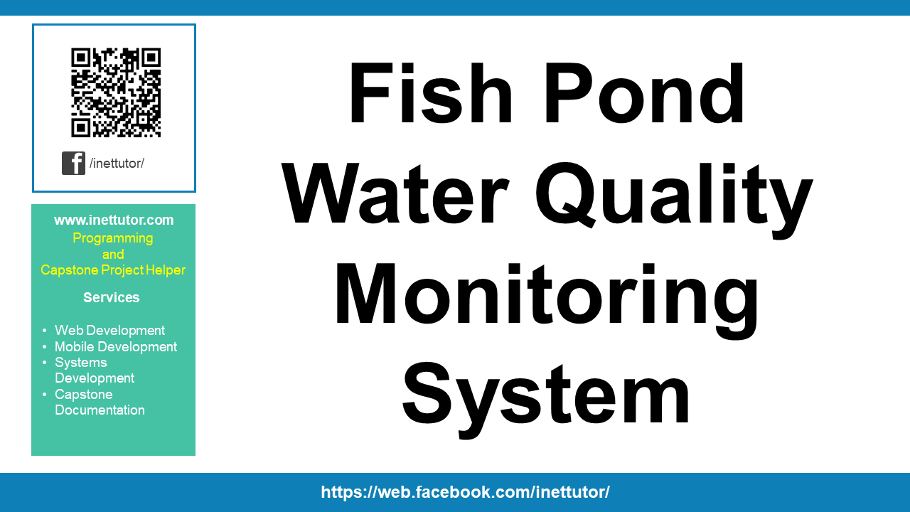 Fish Pond Water Quality Monitoring System