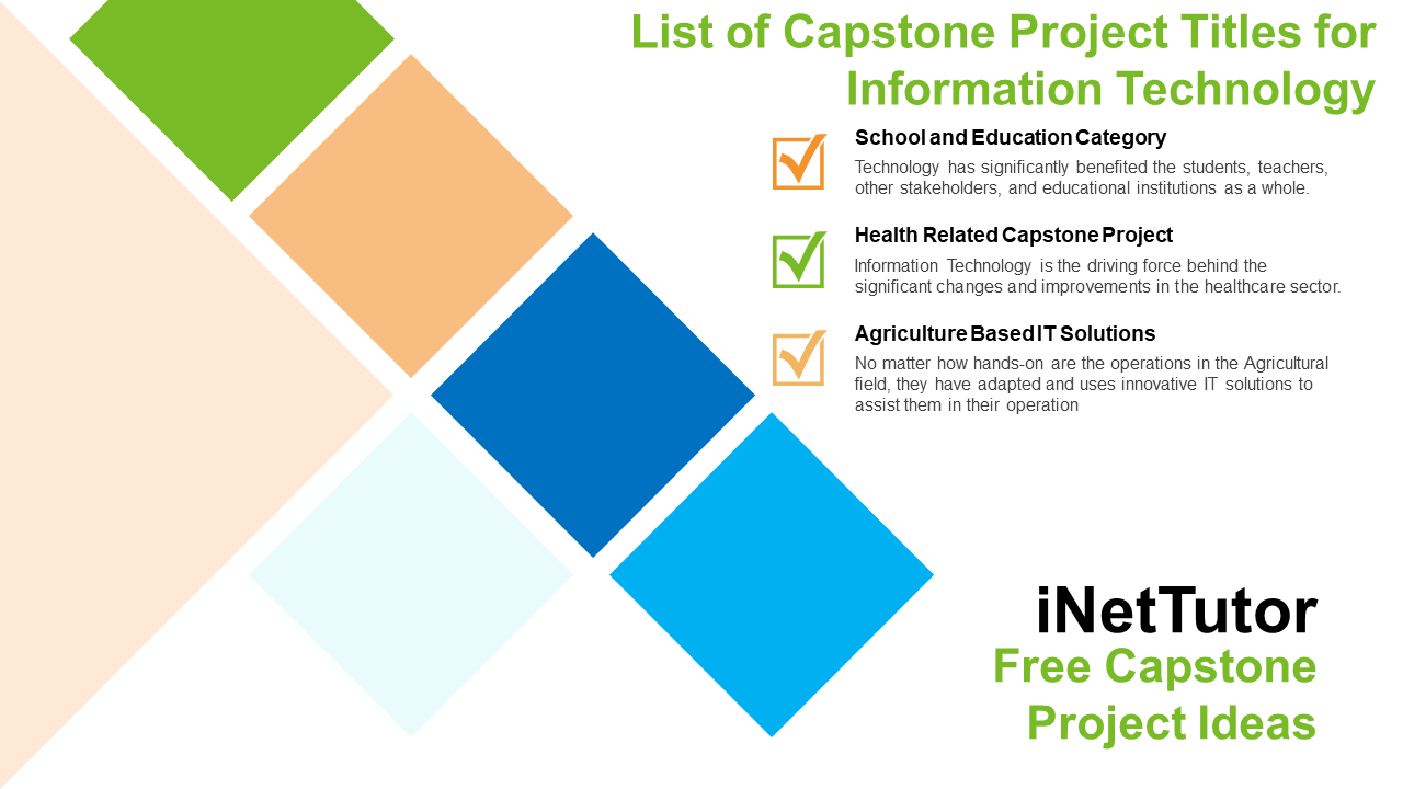 List of Capstone Project Titles for Information Technology