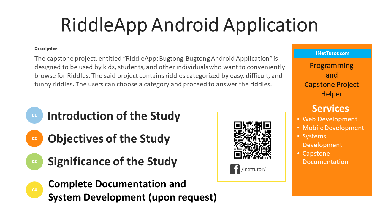 RiddleApp Android Application