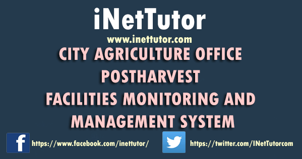 Agriculture Post Harvest Facilities Monitoring and Management System Documentation